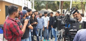 VISIT OF THE STUDENTS OF GKFTII TO THE SHOOTING OF REALITY SHOW OF RENOWNED DIRECTOR OF PHOTOGRAPHY, MR. ZAHIR NAQVI
